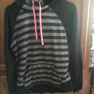 Woman's Medium Reebok Hoodie Sweatshirt